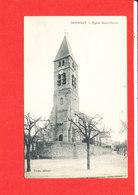 91 MENNECY Cpa Eglise Saint Pierre      Edit Vasse - Mennecy