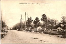 3H10  ---  51  CAMP DE CHALONS   Phare Et Baraquements Militaires - Camp De Châlons - Mourmelon