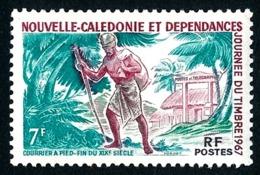 NOUV.-CALEDONIE 1967 - Yv. 340 *   Cote= 4,10 EUR - Journée Du Timbre : Courrier à Pied  ..Réf.NCE25068 - Nouvelle-Calédonie