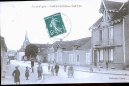 SAINT PARRES LES VAUDES - Francia