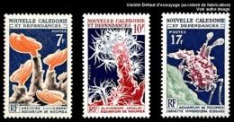 NOUV.-CALEDONIE 1964 - Yv. 322 323 Et 324 *   Cote= 12,00 EUR - Aquarium De Nouméa (3 Val.)  ..Réf.NCE25051 - Nouvelle-Calédonie