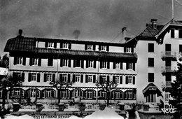 Aix....hotel Le Grand Revard    Voir 2 Scans Timbres Au Dos Edit  Tele No.503 - Aix Les Bains