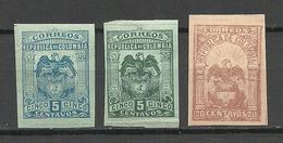 COLOMBIA KOLUMBIEN 1902 - 1905 Coat Of Arms * - Colombie