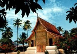 CPM - LAOS - LUANG PRABANG - PAVILLON Du CHAR FUNERAIRE ROYAL ... - Laos