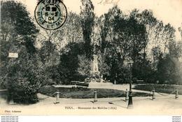 D54  TOUL  Monument Des Mobiles ( 1870 )   ..... - Toul