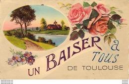 D31  DE TOULOUSE  UN BAISER - Toulouse