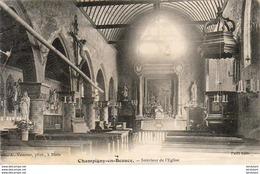 D41  CHAMPIGNY- EN- BEAUCE  Intérieur De L' Eglise   ..... - Frankrijk
