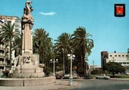 CPM - ALICANTE - MONUMENT à CANALEJAS Et ESPLANADE ... - Alicante