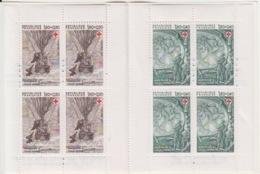 Carnet Croix Rouge 1982 (Jules Verne N° 2247a Cinq Semaines En Ballon, 2248a Vingt Mille Lieues...), Neuf Sans Traces - Rode Kruis