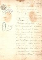 Vieux Papier Du Béarn, Castéide-Doat, 1849, Nabias, Maire De Montaner Estime Les Biens Domengé, Gros Dossier De 36 Pages - Historische Documenten
