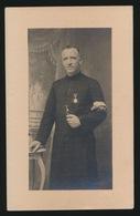 BESTUURDER STICHTER ST.RAPHAËLSGILDE ANTWERPEN - EERW.PATER GERARD DE BRUYN - ANTWERPEN 1858 - 1927  2 SCANS - Overlijden
