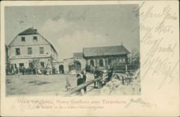 AK Lom U Mostu / Bruch Anton Horns Gasthaus Zum Turnerheim In Bruch Bei Brüx (32197) - Tchéquie