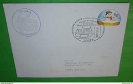 BUND BRD Brief Cover 20537 Hamburg - Adventskranz 175 Jahre - 06.12.2014  (2 Foto)(35827) - [7] Repubblica Federale