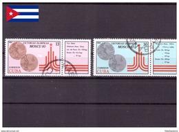 Cuba 1980 - Oblitéré - Jeux Olympiques - Michel Nr. 2515-2516 (cub338) - Cuba