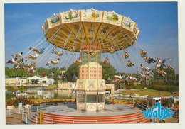 AK  Freizeitpark Walibi Schtroumpf Hagondange Kettenkarussell Mistral - Cartoline