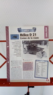 Fiche Collection Automobile Hélica D 21 De 1921 - Voitures