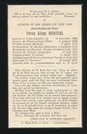 AALMOEZENIER ST.PIETERS RUSTHUIS TURNHOUT - PETRUS WOUTERS - PUTTE KAPELLEN 1892 - TURNHOUT 1957 - Décès