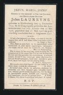 BROEDER JULES LAUREYNS - HULDENBERG 1899  - 1923 - Décès
