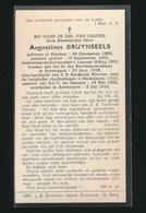 PASTOOR O.L.V. TER SNEEUW ANTWERPEN - AUGUSTINUS BRUYNSEELS - ESSEN 1880 - ANTWERPEN 1942 - Overlijden