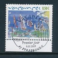 "FRANKREICH Mi.Nr. 3812 EUROPA CEPT "" Ferien "" 2004 -  Used - 2004"