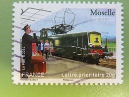 Timbre France YT 1004 AA - La Grande épopée Du Voyage En Train - BB 12125 - Moselle - 2014 - Sellos Autoadhesivos