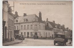 62 - Marquise - Vue Sur La Rue Sainte-Barbe Et La Rue De L' Eglise - Marquise
