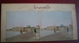 VUE STÉRÉOSCOPIQUE    -  Trouville, Vues Générales, Casino,bords De Mer. - Stereoscopic