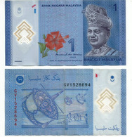 New Polymer Malaysian Bank-note . 1 Ringgit - Malaysia