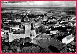 CPSM 16 LA ROCHEFOUCAULD Charente - Vue Aérienne Sur Le Château Et La Ville ° Cim Combier - Autres Communes
