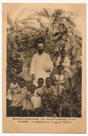 CPA - DAHOMEY - Le Missionnaire Et Un Groupe D'enfants / Missions Africaines LYON - Dahomey