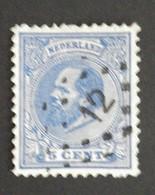 Nederland/Netherlands - Nr. 19H Met Puntstempel 12 - Gebruikt