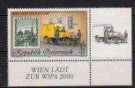 """Österreich 1998:  """"WIPA 2000"""" Postfrisch - 1945-.... 2ª República"""