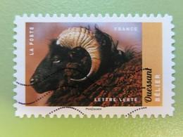 Timbre France YT 1386 AA - Veau, Vache, Cochon, Couvée... - Bélier D'Ouessant - 2017 - Adhesive Stamps