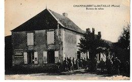 Marne  CHAMPAUBERT LA BATAILLE Bureau De Tabac - Francia