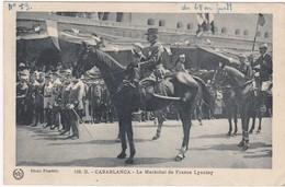 Militaria : Le Maréchal De France LYAUTEY : Casablanca - Maroc - Characters