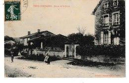 Marne  TROIS FONTAINES Route De St DIZIER - Autres Communes