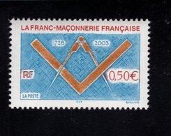 899627740 2003 SCOTT 2967 POSTFRIS MINT NEVER HINGED EINWANDFREI (XX) - FRENCH FREEMASONRY - France