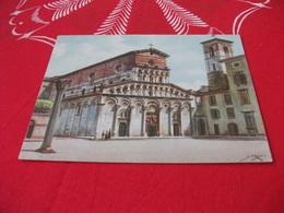 CHIESA EGLISE KIRCHE CHURCH LUCCA  S. MARIA FORISPORTAM  ACQUARELLO MUSSO - Churches & Cathedrals