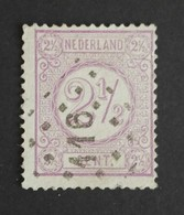 Nederland/Netherlands - Nr. 33B Met Puntstempel 16 - Gebruikt