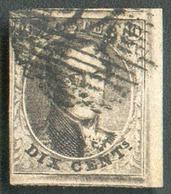 N°6 - Médaillon 10 Centimes Brun, Marges Maxima Et Bord De Feuilles + Voisins.  Pièce Exceptionnelle - 14853 - 1851-1857 Médaillons (6/8)