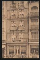 OOSTENDE  HOTEL PENSION,, FLANDRIA ,, PROP M.UYTTERHAEGEN - BAUTERS - GRAND'PLACE 28 _ 2 SCANS - Oostende