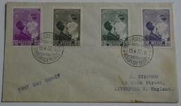 1937 FDC Astrid Regina Del Belgio .(KB-27915 - FDC