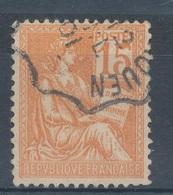 N°117 CACHET CONVOYEUR - 1900-02 Mouchon