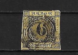 Allemagne Baden Yv. 8 O. - Baden
