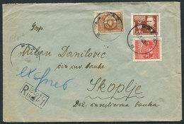 20.Yugoslavia 1949 R-letter Pazin-Skopje Official Stamp - 1945-1992 République Fédérative Populaire De Yougoslavie