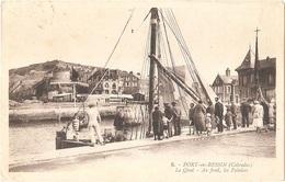 Dépt 14 - PORT-EN-BESSIN - Le Quai - Au Fond, Les Falaises - (G. Artaud, éditeur, N° 6) - Port-en-Bessin-Huppain