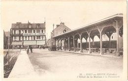Dépt 14 - PORT-EN-BESSIN - Le Grand Hôtel De La Marine Et La Poissonnerie - (G. Artaud, éditeur, N° 36) - Halle - Port-en-Bessin-Huppain