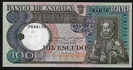 BILLET  ANGOLA 1000 ESCUDO - Angola
