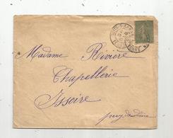 Lettre, 1917,  NUITS SUR ARMANCON , 2 Scans - 1877-1920: Période Semi Moderne