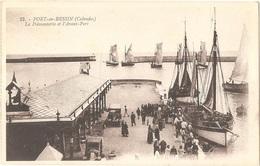 Dépt 14 - PORT-EN-BESSIN - La Poissonnerie Et L'Avant-Port - (G. Artaud, éditeur, N° 32) - Port-en-Bessin-Huppain